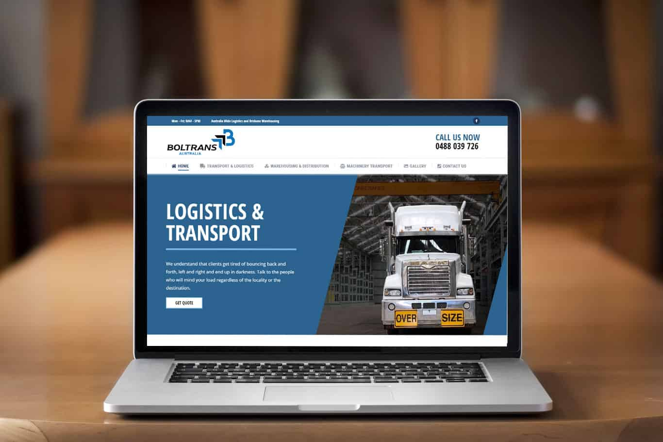 Transport Website